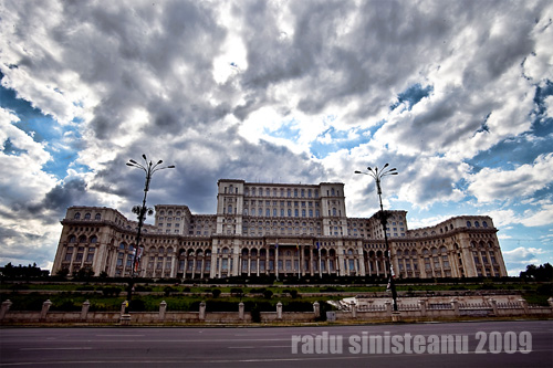 people's house, bucharest